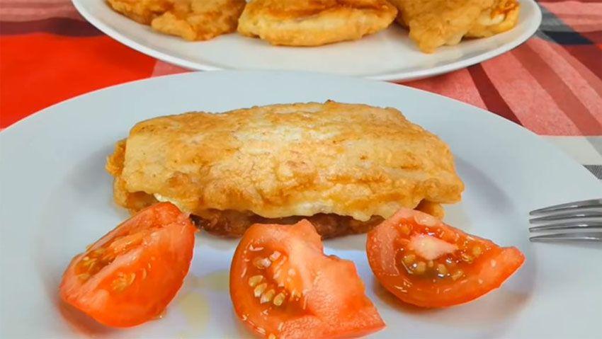 receta de Cachopo de merluza