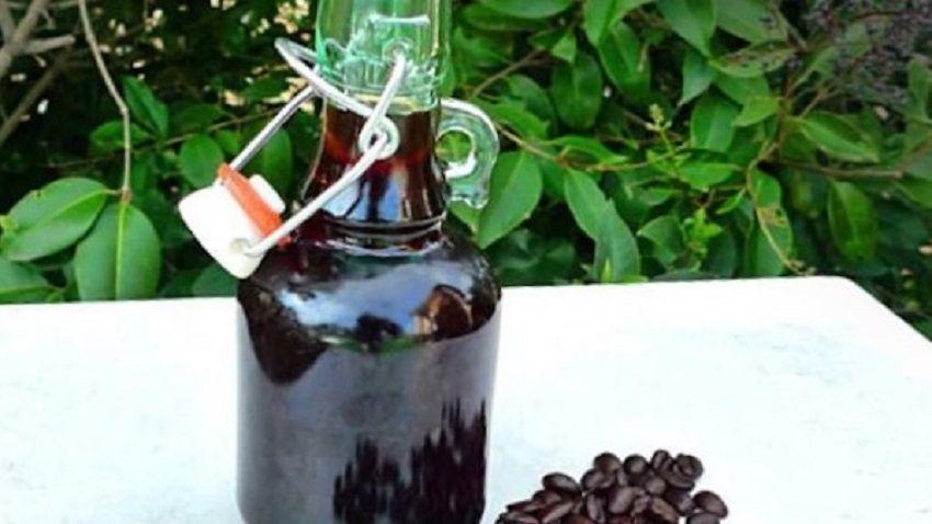 Receta de licor de café español