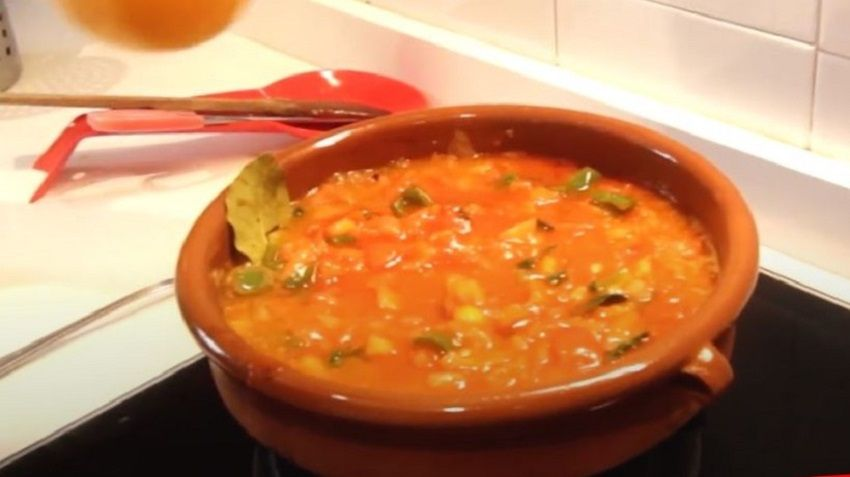 Receta de Sopa de Tomate Extremeña español
