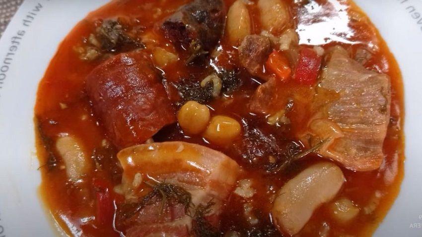 Receta de potaje de hinojos a la española