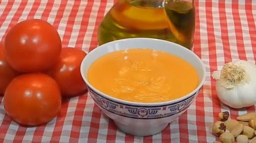 Receta de salsa de romesco español