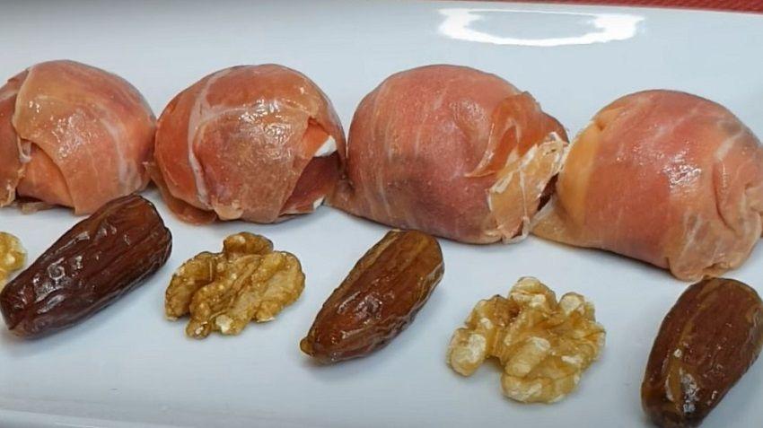 Receta de bombones de jamón Ibérico