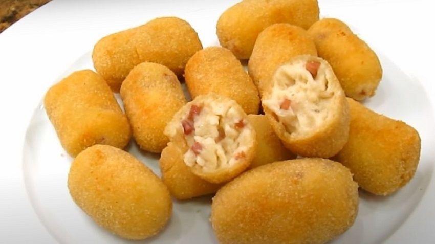 Receta de croquetas de jamón español