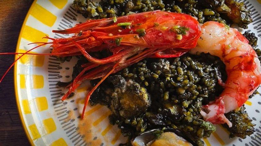 Receta de arroz negro español